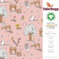 Mobile Preview: Deer - GOTS certified - light pink