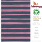 Mobile Preview: Stripes blurry - GOTS certified - indigo