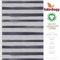 Preview: Stripes blurry - GOTS certified - light grey (melange-optic)