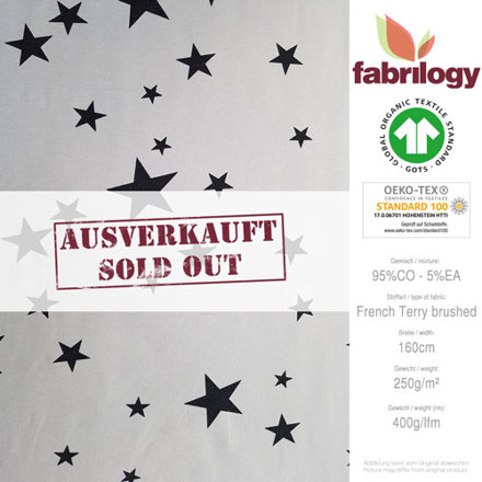 2014 180 fabrilogy gots sternenkreis grau frenchterrybrushed