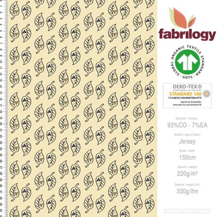 2043 fabrilogy gots forrest fairy leaves by birgit boley design_