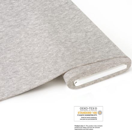 fabrilogy coupon 905 melange light grey