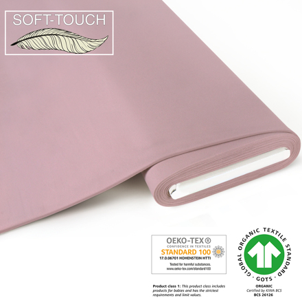 fabrilogy gots soft_touch coupon 490 light pink