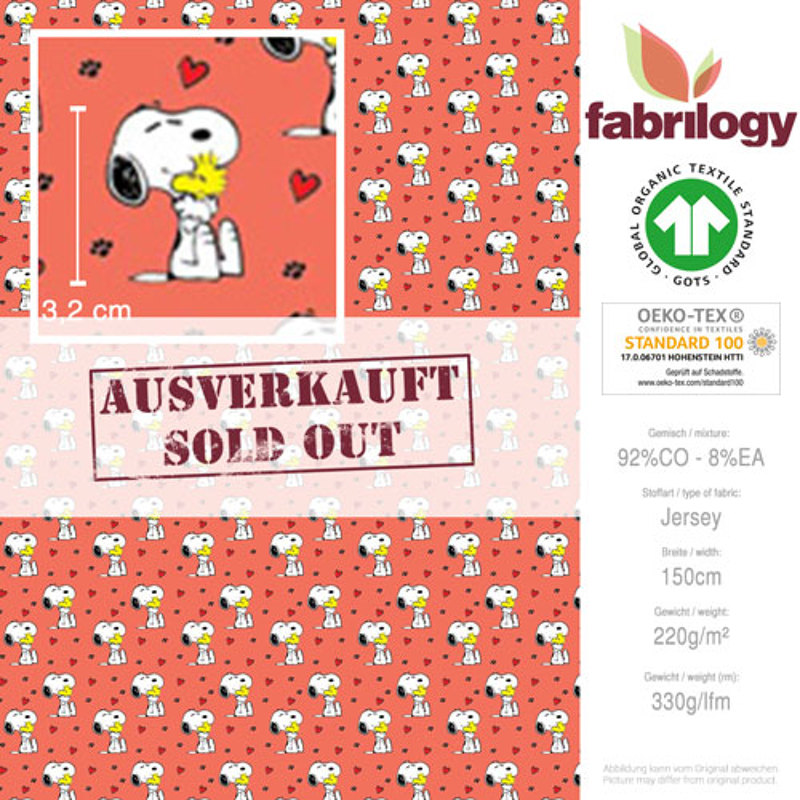 3000 395 fabrilogy gots snoopy_woodstock