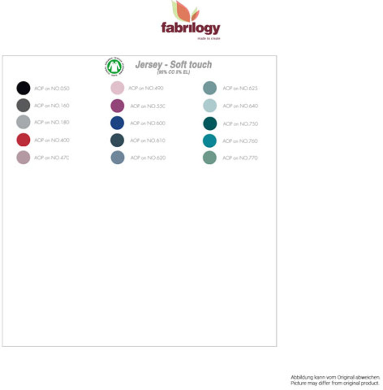 fabrilogy colorbook jersey_soft touch