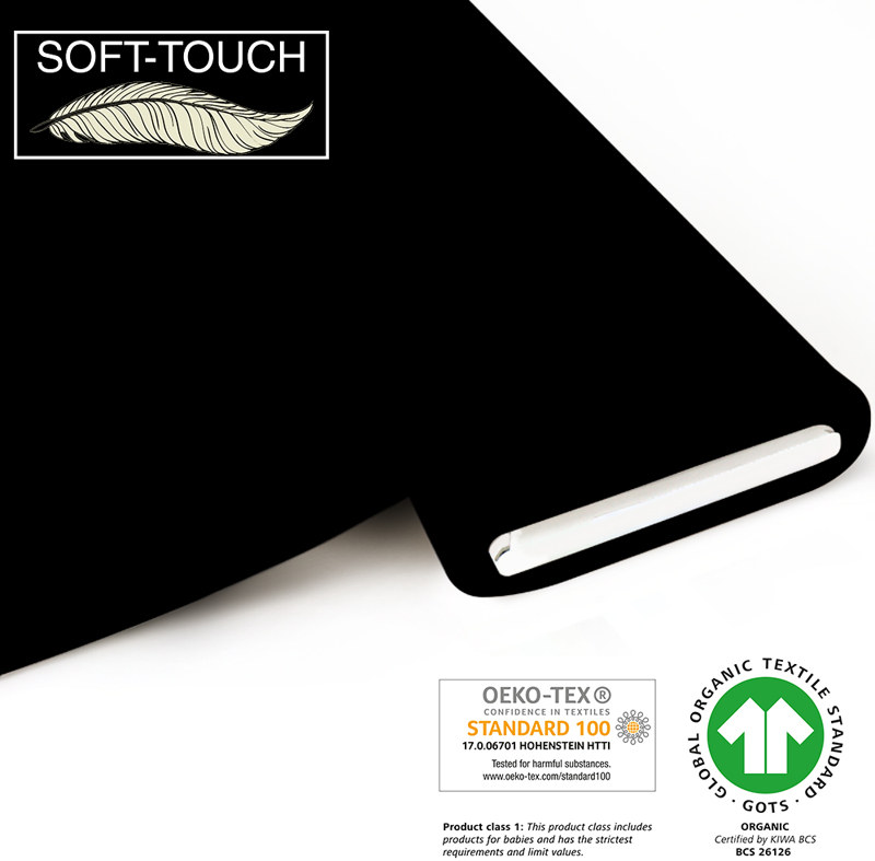 fabrilogy gots soft_touch coupon 050 black
