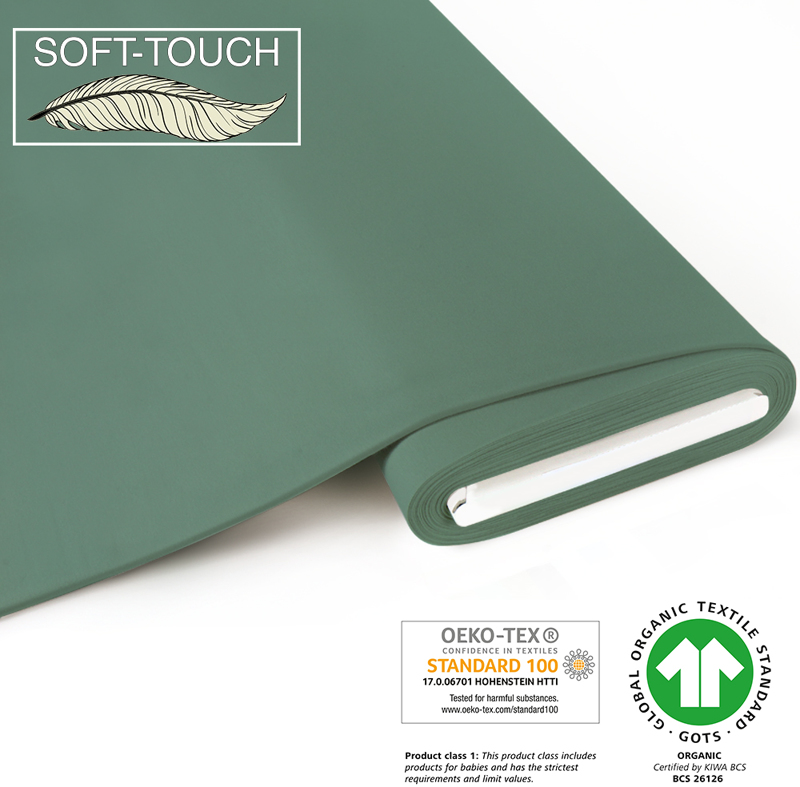 fabrilogy gots soft_touch coupon 770 pistachio