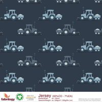 Tractor - GOTS certified - navy