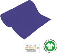 Cuff uni - GOTS certified - purple
