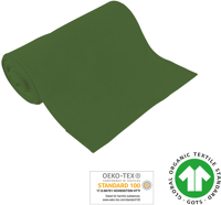 Cuff uni - GOTS certified - dark green