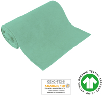 Organic ribbed fabrics - GOTS - light-mint