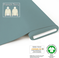 Organic French Terry - GOTS cert. - frost
