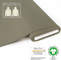Organic French Terry - GOTS cert. - sage
