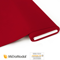 MicroModal® Jersey uni - cherry red