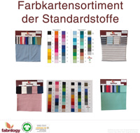 Color books - standard fabrics